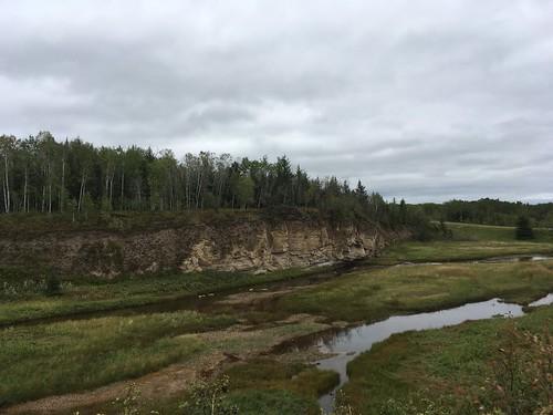 Limestone Cliffs and Salt River