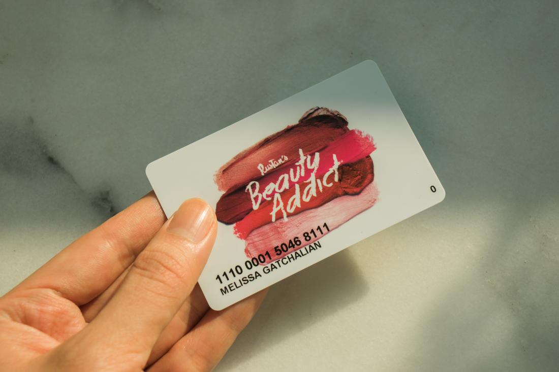 Rustan's Beauty Addict Card