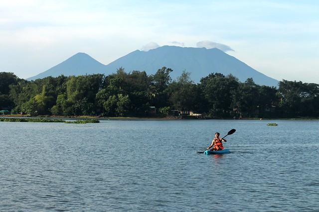 Lake Caliraya & Mt. Banahaw.
