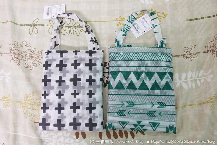 大創必買 質感雨衣 附收納袋 Simple Pattern 就算雨天也要可愛 @ 三貓繪飯 :: 痞客邦
