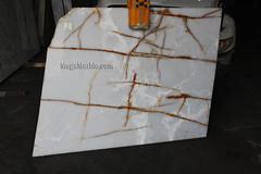 White Onyx 2cm 73x60