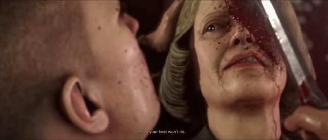 Wolfenstein 2 - Muerte del general Engel