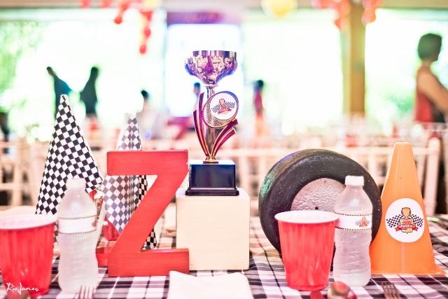 race car theme tables (2)