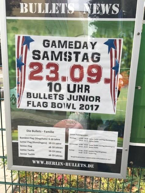 Bullets Kids Flag Bowl 2017