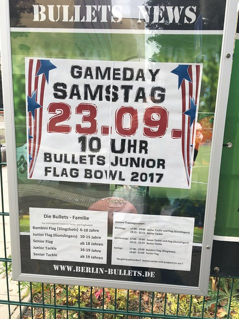 Bullets Kids Flag Bowl 2017