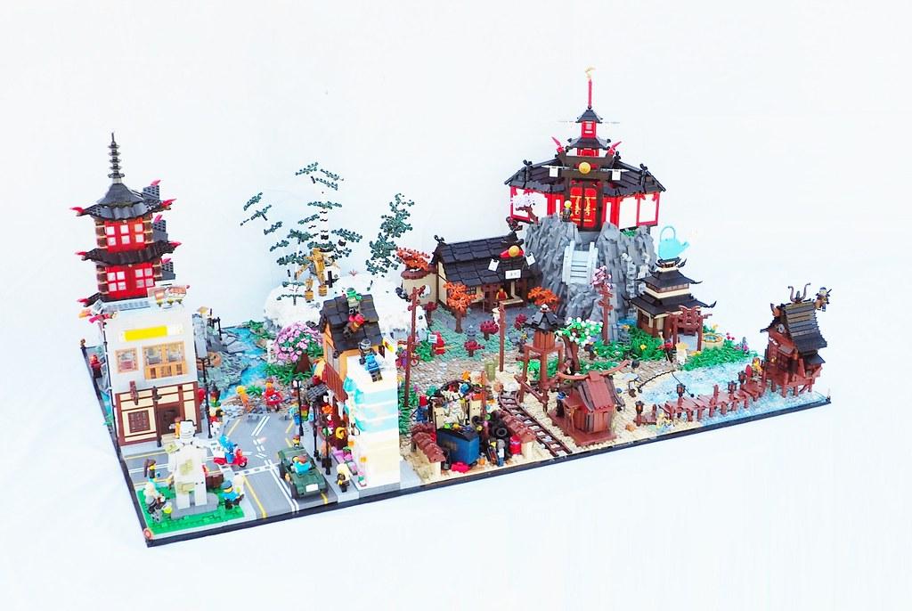 LEGO Ninjago Diorama