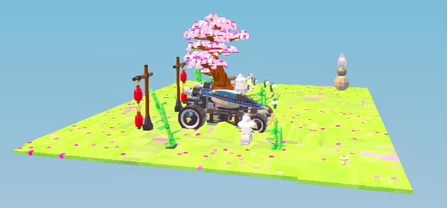 Samuraj VXL - LEGO Worlds
