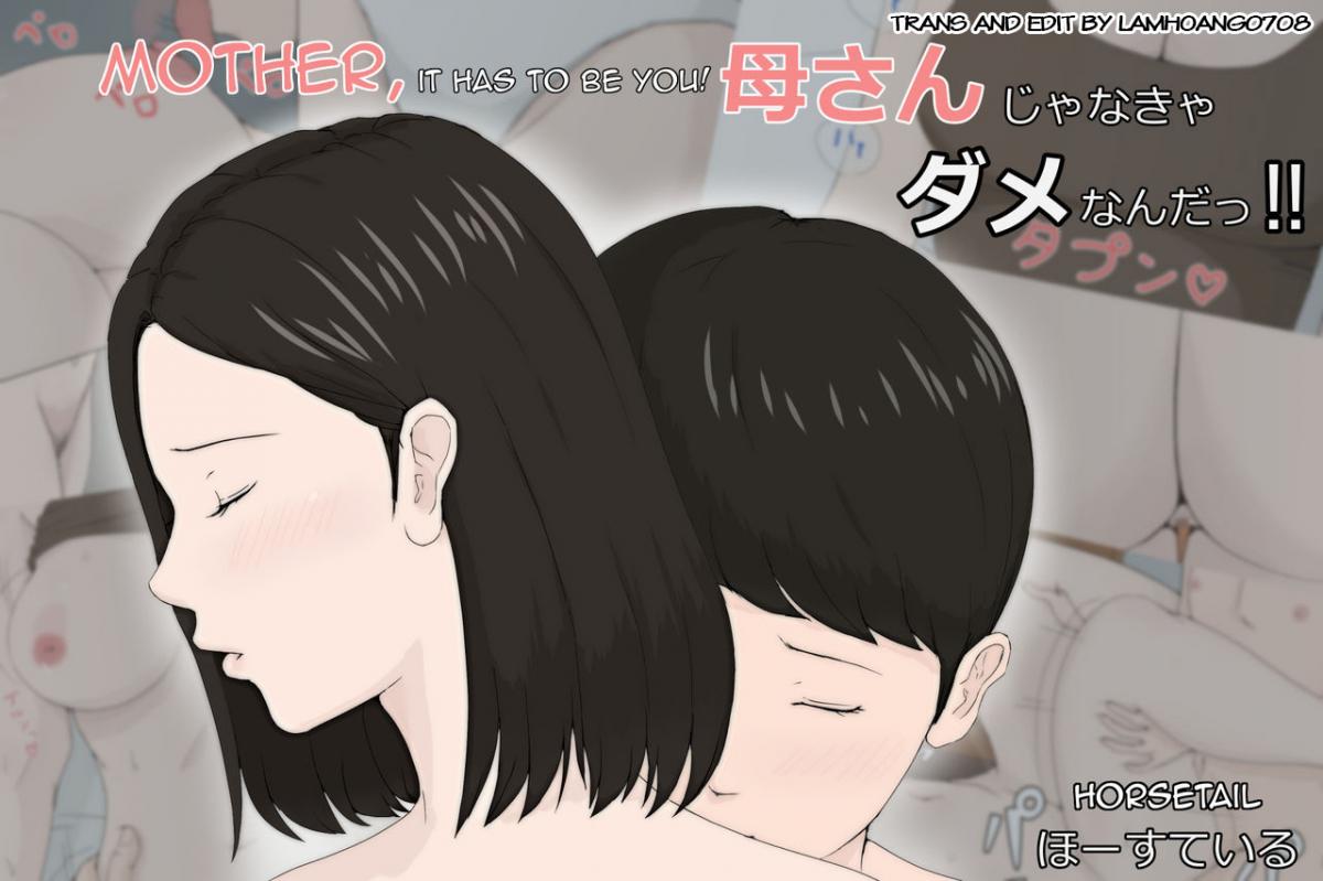 Hình ảnh  in Truyện Hentai Kaa-san Ja Nakya Dame Nan Da
