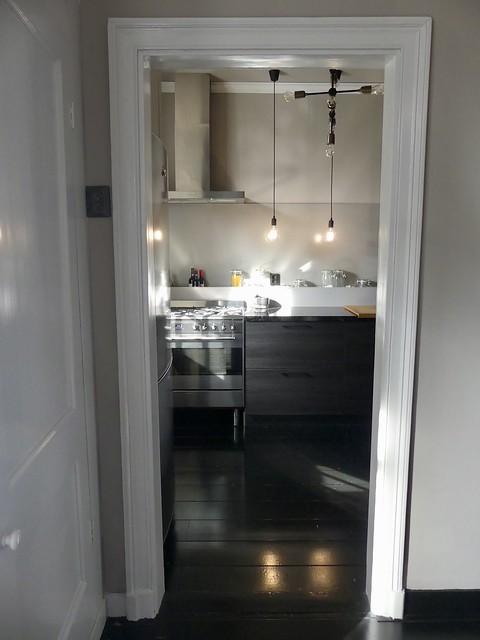 Design keuken zwart