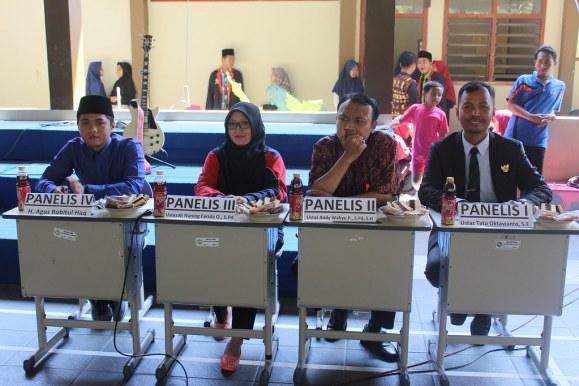 Panelis Debat Student Council SMP Bustanul Makmur 2017/2018