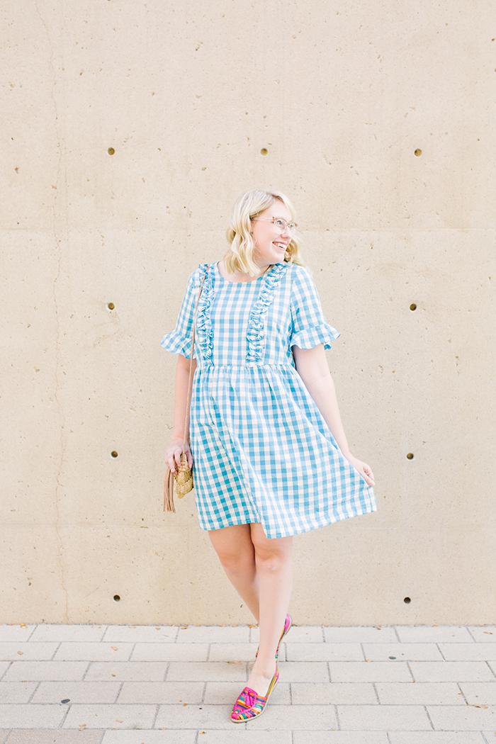 austin fashion blogger writes like a girl asos gingham dress11