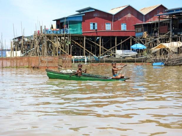 Tour al Lago Tonle Sap