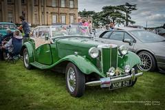 Classic Vehicle Show. Attingham Park, Shrewsbury. Shropshire