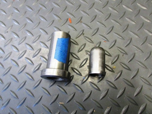 Input Shaft Seal Install Tool Parts-(Right) Outer Tube, (Left) Cup
