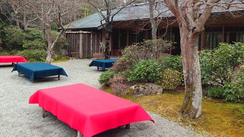 3 Hari Keliling Kyoto - Ohkouchi Sansou Garden Rest Area