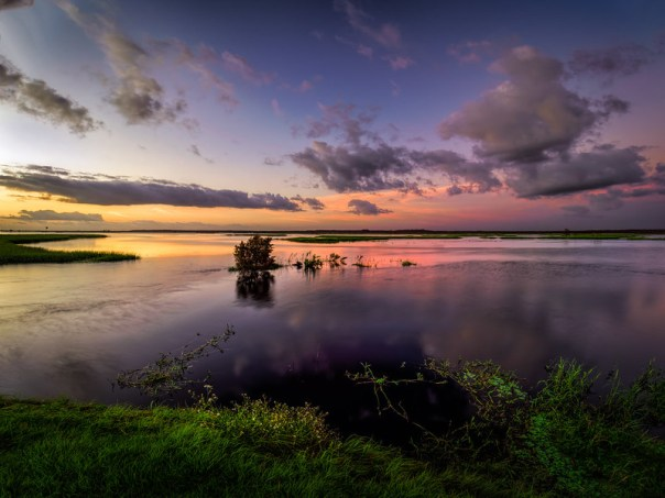 St. Johns River at dawn