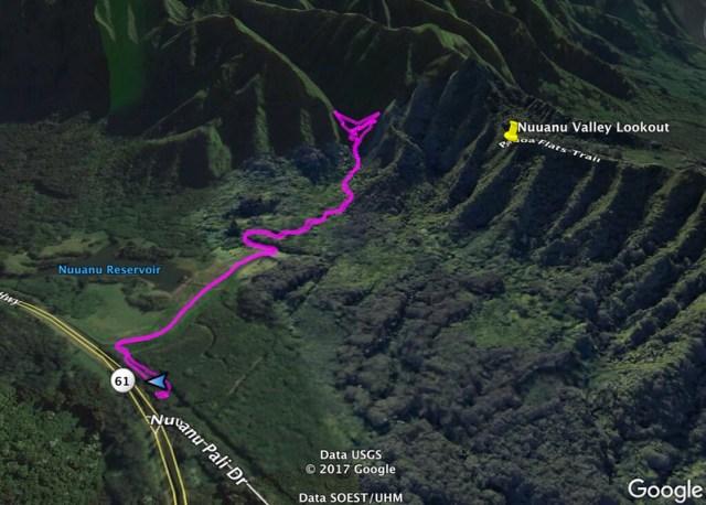 Luluhamu Falls Trail