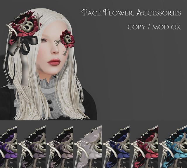 *NAMINOKE*FaceFlower Accessories