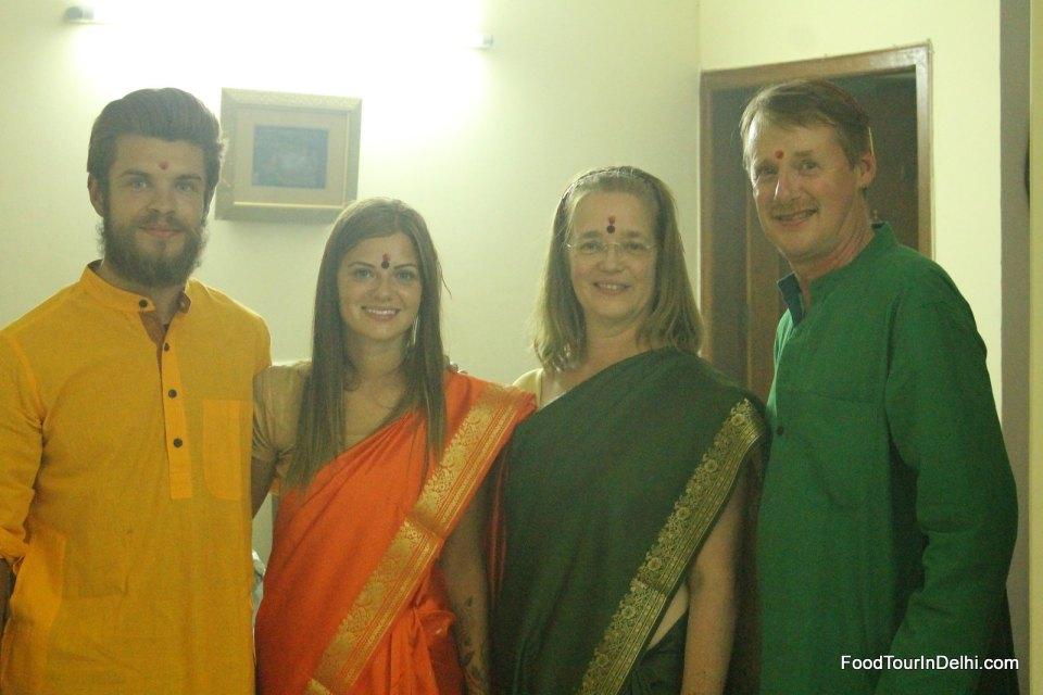 Celebrating Diwali in Delhi