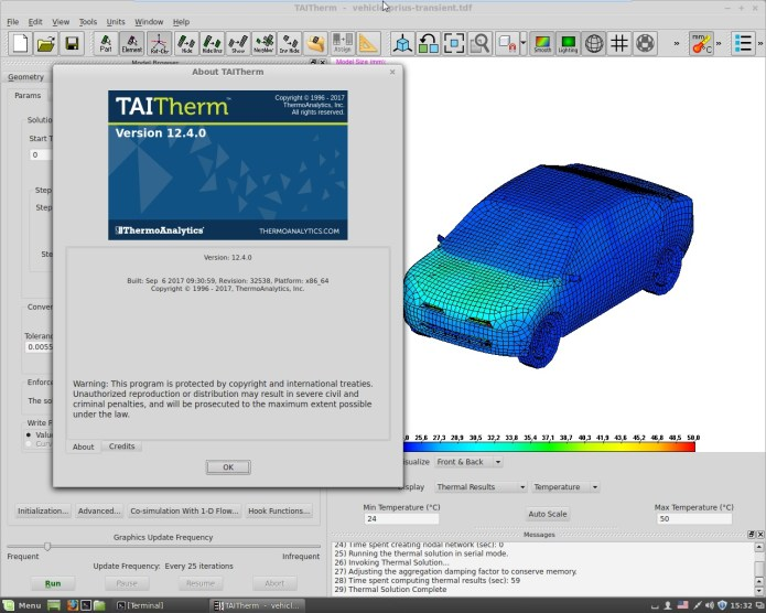 Working with ThermoAnalytics TAITherm 12.4.0 full license
