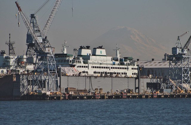 MV Suquamish under construction