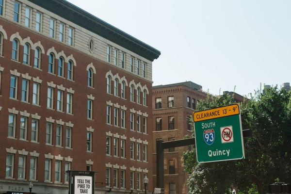 Quincy Street Sign