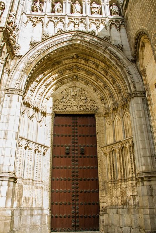 Puerta del Juicio Final Catedral de Toledo 01