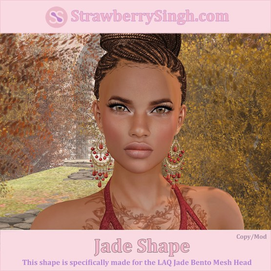 StrawberrySingh.com Jade Shape