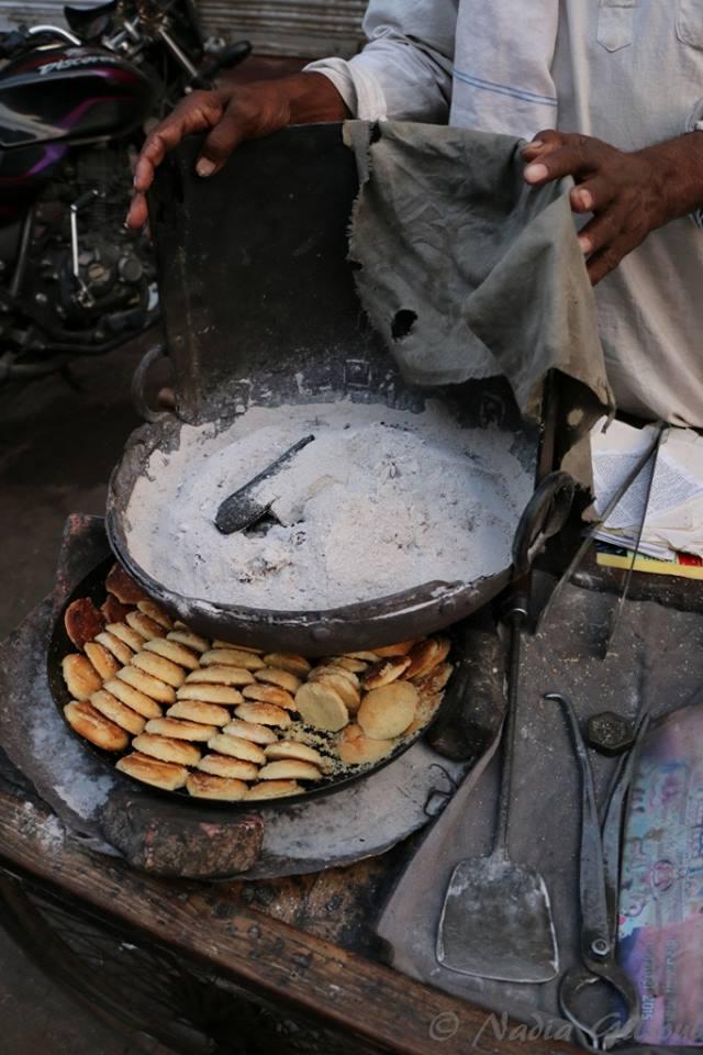 Freshly baked Naan Khatai