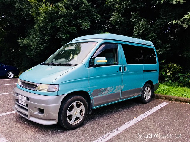 Japan Sept 2017 - Traveling by Campervan