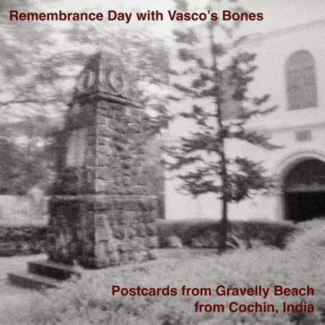 Remembrance Day with Vasco's Bones