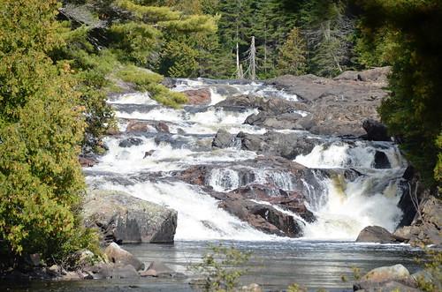 Lake Superior Provincial Park Sand Lake hike and falls 3