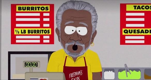 South Park TFBW - Morgan Freeman