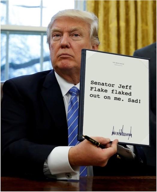 Trump_JeffFlakeflakedout