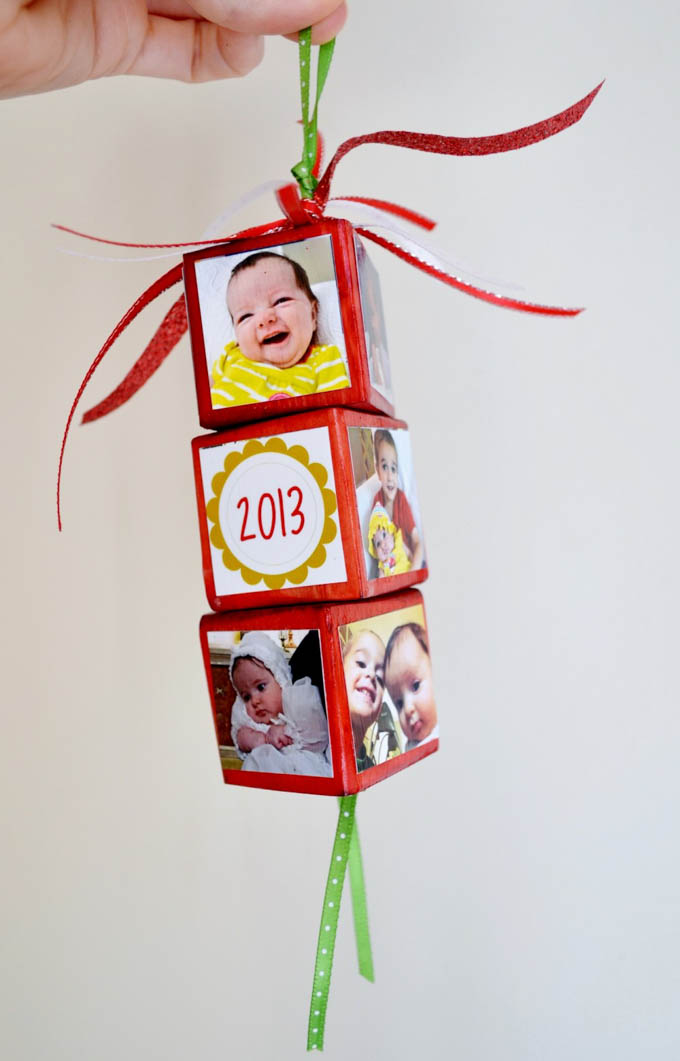 Baby S First Christmas Ornaments You Can Make Yourself