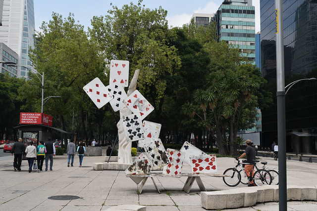 Art along Paseo de la Reforma
