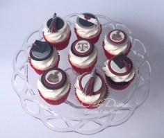 A&M cupcakes