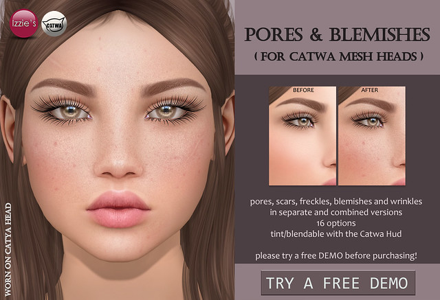 Pores & Blemishes Catwa for TLC