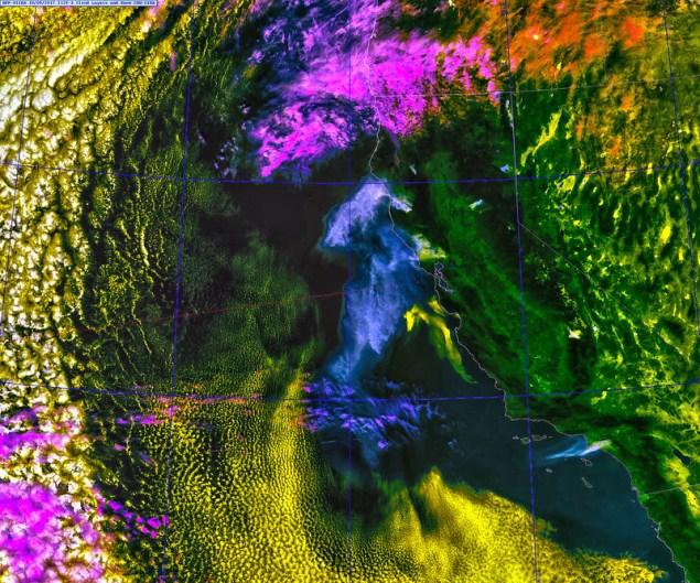 California Smoke, 9 October 2017, variant