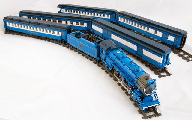 Comet Train Set 02