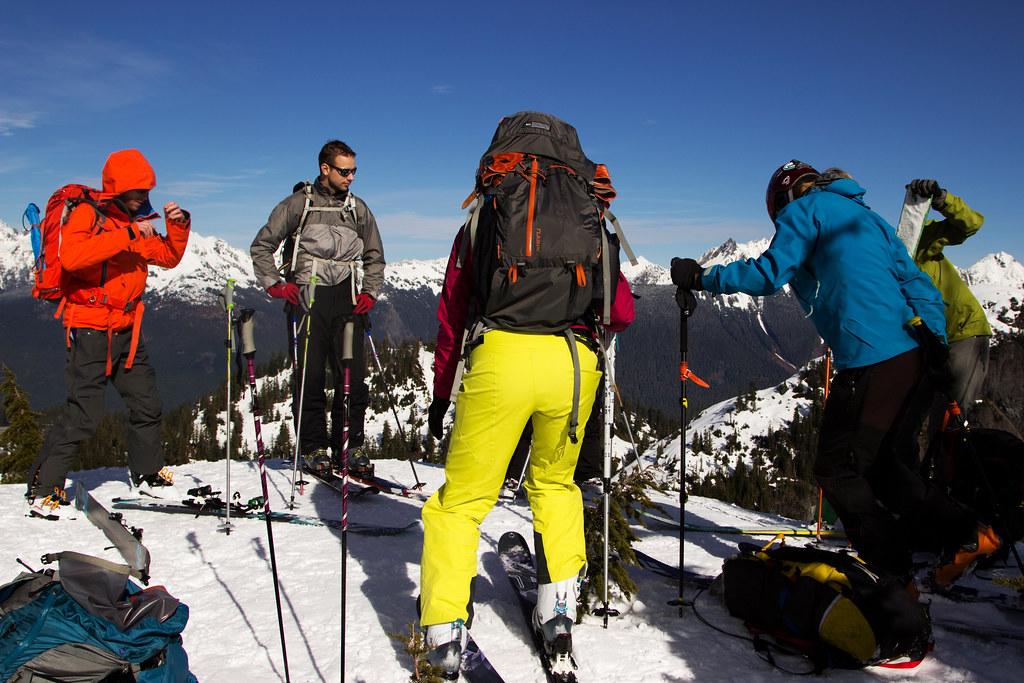 My ski crew