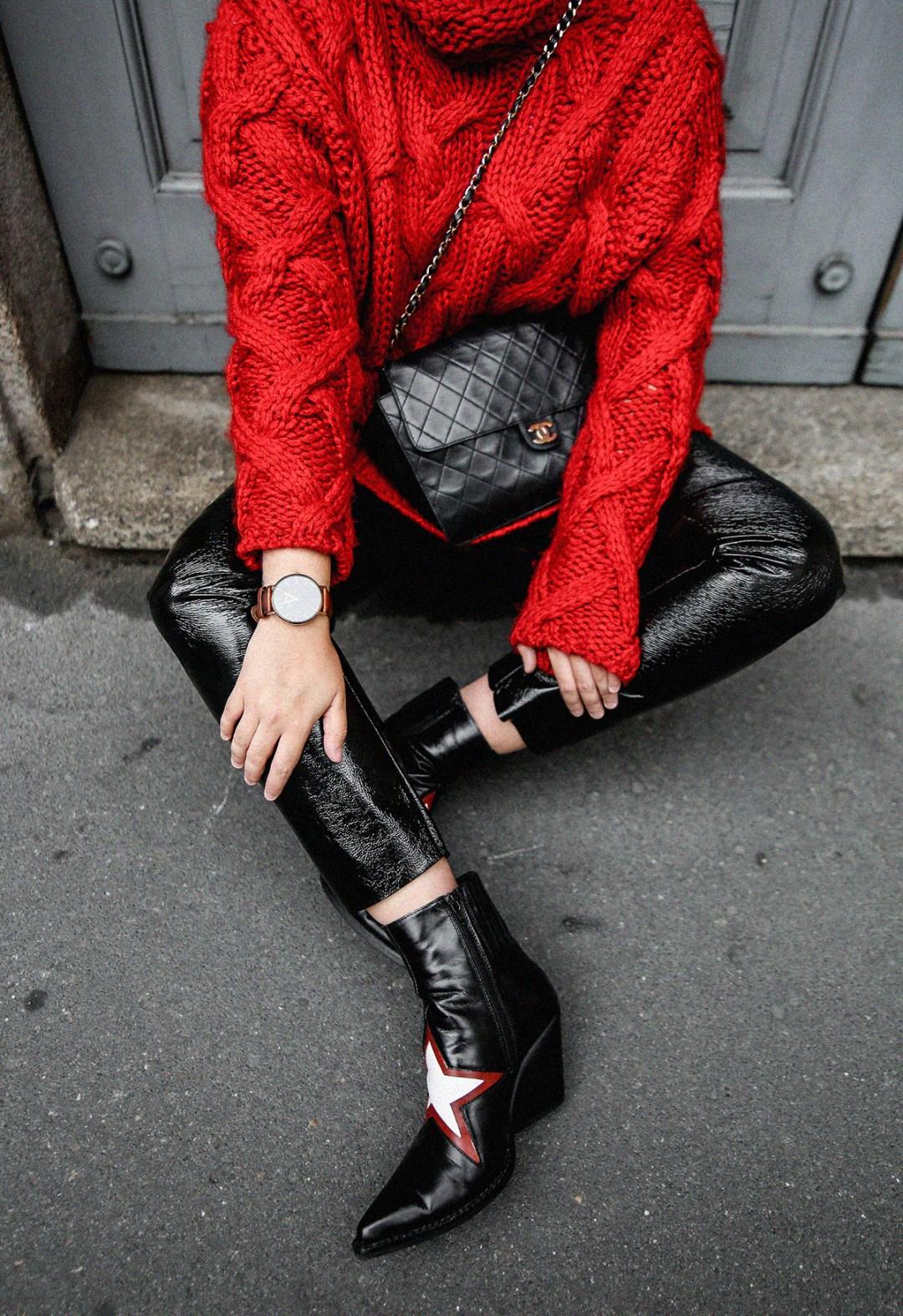 pantalones de charol look myblueberrynightsblog7