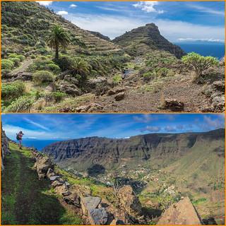 Blick gen El Hierro und zum Valle