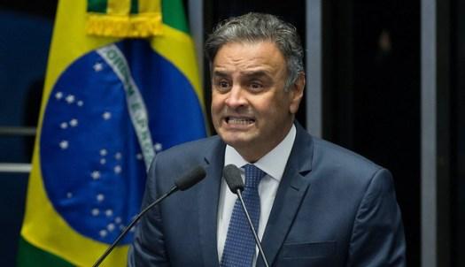 Primeira Turma do STF impôs afastamento do cargo e recolhimento noturno a Aécio Neves - Créditos: Lula Marques/AGPT