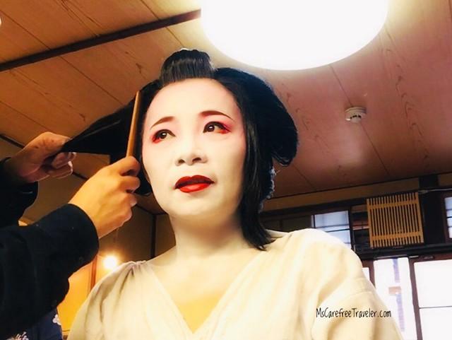 Maiko hairdo