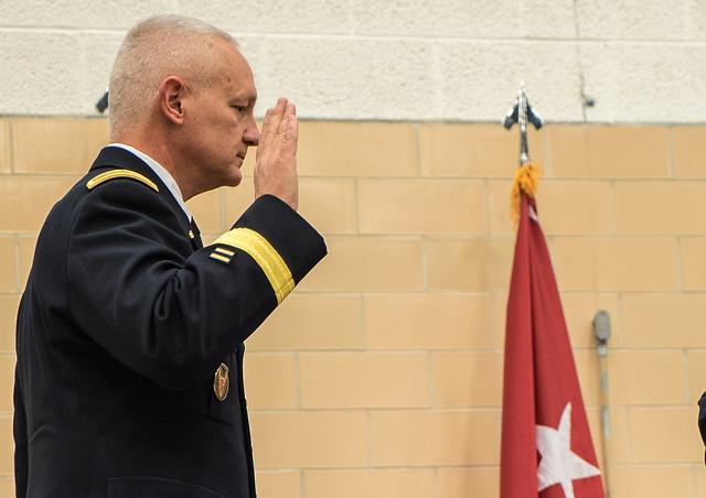 Governor Mark Dayton installs new Minnesota National Guard Adjutant General
