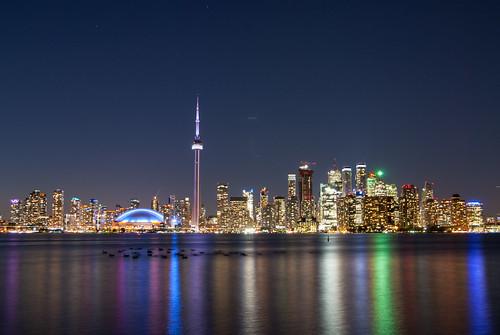 Toronto Skyline from Center Island
