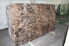 Emperador Dark marble slabs for countertops