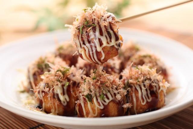 Takoyaki with Regular Sauce