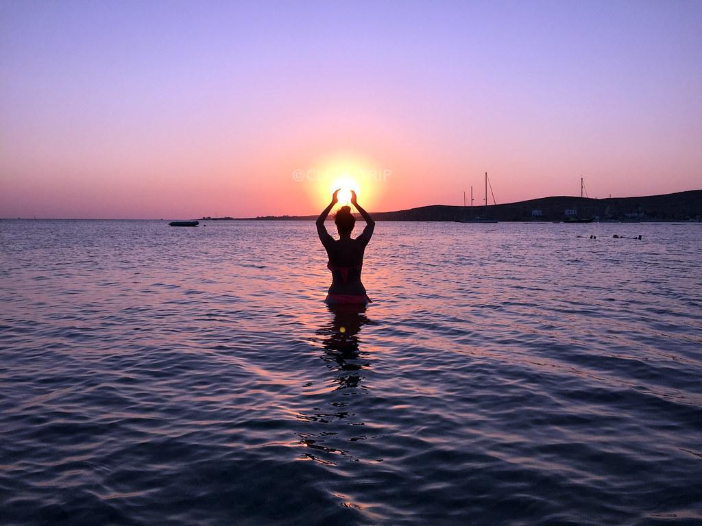 Atardecer en Paros | Isla de Paros | Islas Griegas | ClickTrip.ES